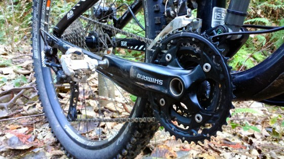 Shimano Triple Ring Crank