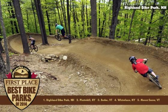 Mtbparks Com Reveals The Year S Best Bike Parks Mountain Bike