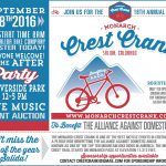 Monarch Crest Crank Mountain Bike Pledge Ride to Benefit   Alliance Against Domestic Abuse for 18th Year