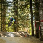 Adrien Loron and Jill Kintner Rip the Iconic Aline Track in the Fox Air DH Wednesday